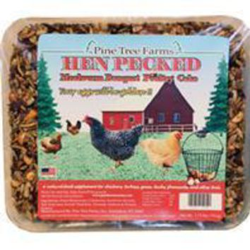 Pine Tree Farms Inc - Hen Pecked Mealworm Banquet Poultry Cake