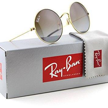 Ray-Ban RB3592 JA-JO Polarized Metal Round Gradient Sunglasses 001/T5 - 50mm
