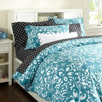 Isabel Floral Organic Duvet Cover & Pillowcases