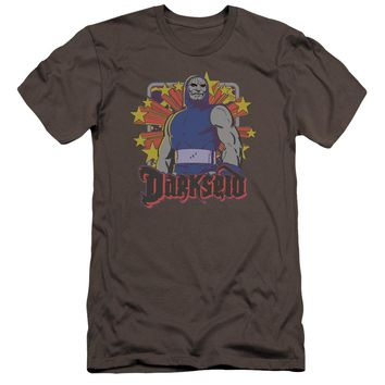 Dc - Darkseid Stars Premium Canvas Adult Slim Fit 30/1 Shirt Officially Licensed T-Shirt