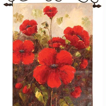 Wall Art - Red Poppies