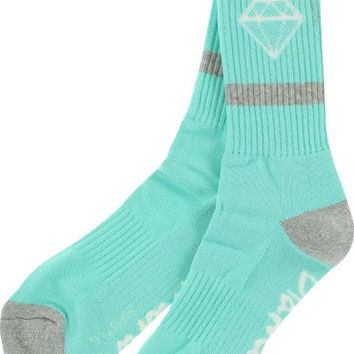 Diamond Rock Sport High Socks Small DMND Blue/Grey 1 Pair