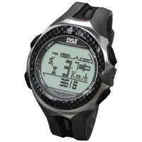 Pyle Sports PPDM3 Digital Outdoor Sports Watch with Time, Chronograph, Altimeter, Barometer, Pedometer