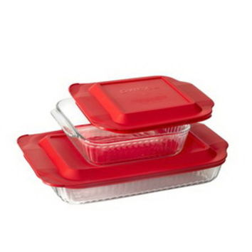 Opentip.com: PYREX 1119564 Sculpted Bakeware 4-pc Value Pack