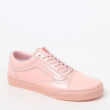 DCCKYB5 Vans Women's Patent Leather Old Skool Sneakers