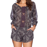 Eternal Sunshine Creations Farah Romper in Black