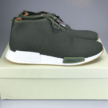 ADIDAS CONSORTIUM X END CLOTHING NMD C1 Olive SAHARA BB5993 CHUKKA US 12.5 NEW