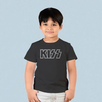Kids T-shirt - Kiss Band Logo