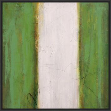 UTILITY III 28L X 28H Floater Framed Art Giclee Wrapped Canvas