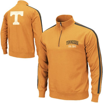 Tennessee Volunteers Pioneer Quarter Zip Fleece Sweatshirt - Tennessee Orange