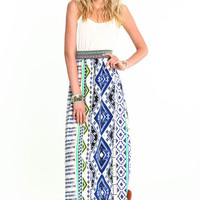 WOVEN RESORT MAXI DRESS