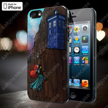 Disney Princess Tardis Dr Who Case for iPhone 5/5S, 4/4S, and Samsung Galaxy S3/S4