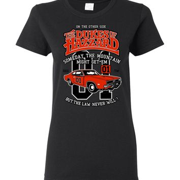 Dukes of Hazzard General Lee Ladies T-Shirt