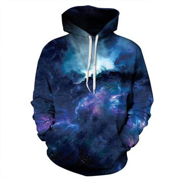 Hoodies Women Men Space Galaxy hoodie Sports funny hoodie men tracksuit unisex pullovers