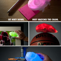 Color-Changing Chameleon: Lamp matches color of whatever you place it on