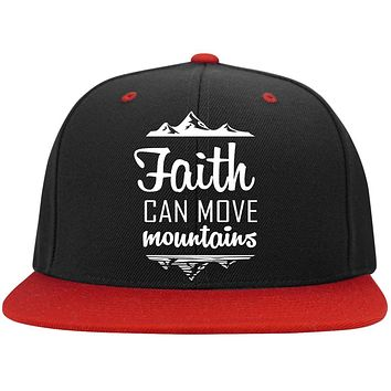 "Christian Apparel - ""Faith Can Move Mountains"" Caps"