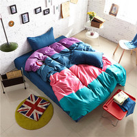 Set of 4-Piece Quilt and Bed Sheet