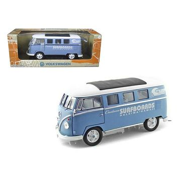 93a1564d 1962 Volkswagen Microbus Custom Surfboards Haleiwa,Hawaii 1/18 Diecast  Model Car by Greenlight