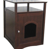 Table Stand Litter Box Cover