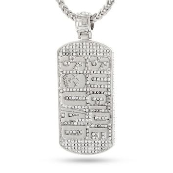 Suicide Squad x KING ICE - The Suicide Squad Dog Tag Necklace