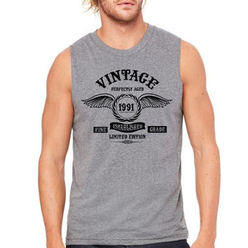 Vintage Perfectly Aged 1991 Muscle Tank
