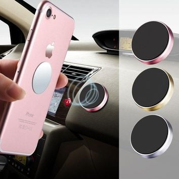 Case for Xiaomi Magnetic Car Phone Holder Universal Wall Desk Metal Magnet Sticker Mobile Stand Phone Holder Car Mount Support