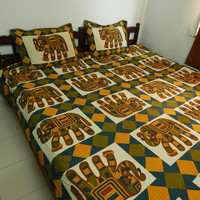 Indian Bedspread Indian Tapestry Indian Bed sheet