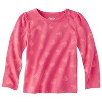 Circo® Infant Toddler Girls' Long-sleeve Print Tee