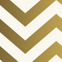 Sample of Zee Self Adhesive Wallpaper in Gold design by Tempaper