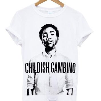 Childish Gambino Custom Women's Gildan Adult T-Shirt