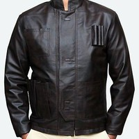 Han Solo Star Wars Harrison Ford PU Leather Jacket - Best Offer