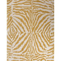 Jaipur En Casa By Luli Sanchez Tufted Zebra Ikat Hand-Tufted Wool Area Rug
