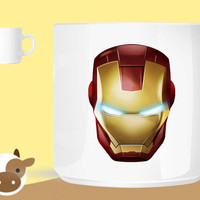 ironman gold unique coffee mug