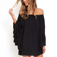 Indah Kamani tunic in black