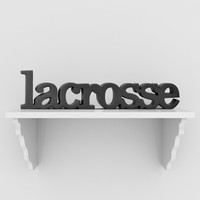 Lacrosse SportWORDS | Decorative Lacrosse Words