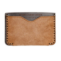 MAKR Horizon 2 Wallet Grey | Bows + Arrows