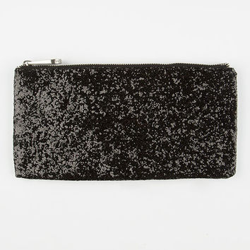 Volcom Glitter Party Clutch Black One Size For Women 26527210001