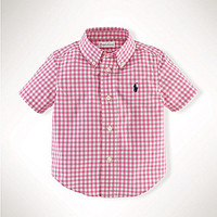 Ralph Lauren Childrenswear 9-24 Months Blake Gingham-Patterned Poplin