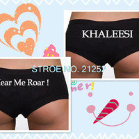 Khaleesi OR Hear Me Roar Undies, Game of Thrones Inspired by Underwear Panties