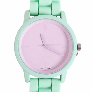 Right Combo Watch - Dino Green