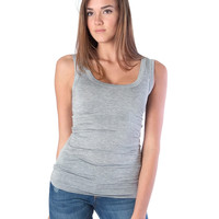 Back To Basic Tank Top - Heather Gray