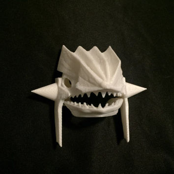 Groudon Skull Pokemon 3D Printed Model