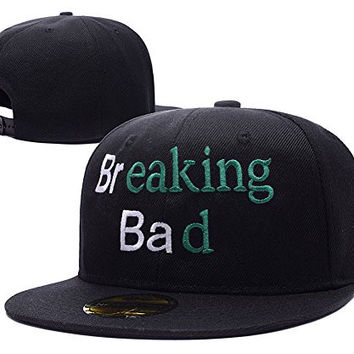 XINMEN Breaking Bad Logo Adjustable Snapback Embroidery Hats Caps