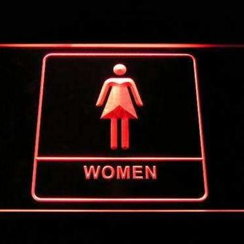Women Washroom Restroom Neon Sign (LED)