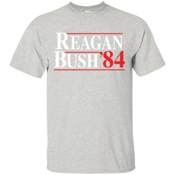 Reagan Bush 84 Cotton T-Shirt