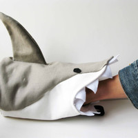 Great White Shark Rock Climbing Chalk Bag by AllBeta