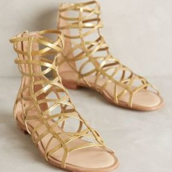 Eight Fifteen Lemonade Stand Gladiator Sandals