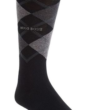 Men's BOSS 'James' Argyle Socks