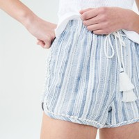 BEACHY STRIPED SHORTS