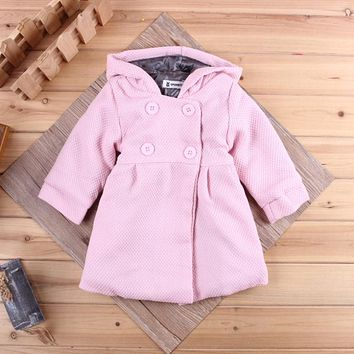Children Hoodies baby girls Clothes Sweatshirts girl Spring Autumn 2017 New Fashion Leisure Outwear Coat Kids Outfit Cotton